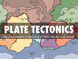 World Plate Boundaries Map by Plate Tectonics By Amanda