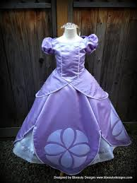sofia the dress sofia the princess dress gown or child by bbeauty79