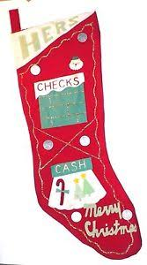 christmas hers vintage christmas hers felt with appliques metal coins