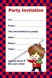 kids birthday party invitations orionjurinform com
