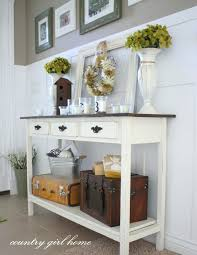 entryway table decor ideas table design and table ideas