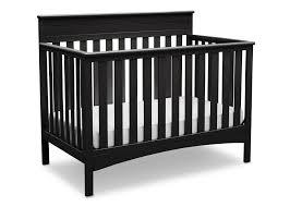 Delta Canton 4 In 1 Convertible Crib Black Fabio 4 In 1 Crib Delta Children