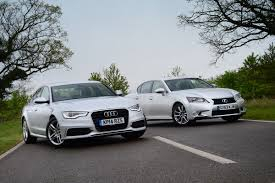 lexus gs 450h carbuyer audi a6 ultra vs lexus gs 300h auto express