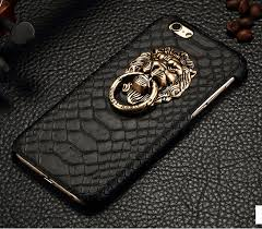 classic lion ring holder images Luxury 3d lion head metal ring holder back case cover for iphone jpg