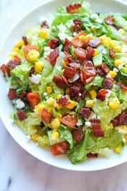 Best Salad Recipes Blt Chopped Salad Damn Delicious