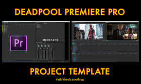 adobe premiere cs6 templates free download deadpool premiere pro project template