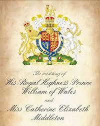 royal wedding invitation royal wedding day charitable
