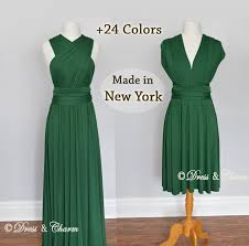 green emerald bridesmaid dress convertible dresses infinity