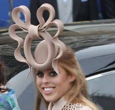 Princess Beatrice Hat Meme - own princess beatrice s wedding hat bleader