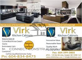 virk kitchen cabinets connect construction