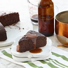 chocolate stout cake with salted beer caramel mccormick gourmet