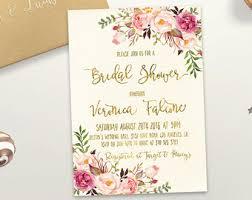 cheap bridal shower invitations cheap invitations etsy
