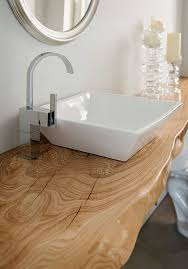 Vanity Top For Vessel Sink Contemporary Full Bathroom With Vessel Sink By Eco Installations