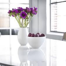 Vase Design Cocoon Vase White 26 Cm U2013 Holmegaard Dk