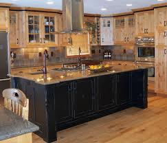 travertine backsplash from the tile shop the cabinet glazing painted bottom kitchen cabinets classy grey base island