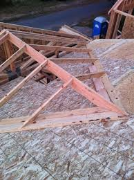 How To Build Dormers In Roof Tying Into A Exsisting Roof Over Framing A Cross Gable Roof To A