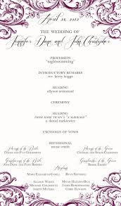 one page wedding program template one page wedding program template template ideas