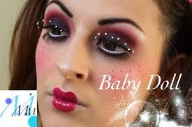 maquillage halloween baby doll youtube