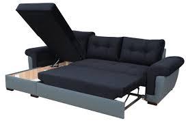 Leather Sofa Beds With Storage Corner Sofa Bed With Storage Mforum