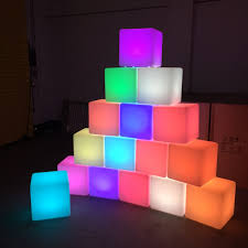 led cubes led cube hire waterproof battery powered led cubes for hire