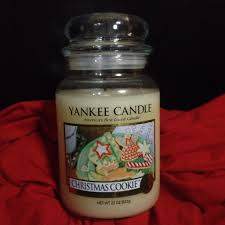 cookie yankee candle lights decoration