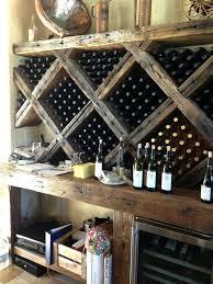 Diy Bakers Rack Wine Rack Wine Storage Rack Diy Black Wine Rack With Storage