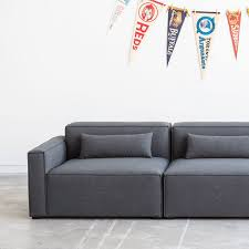 Modern Modular Sofa Gus Mix Modular Sofa 3 Pieces The Century House Wi