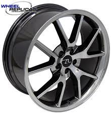 Black Chrome Wheels Mustang 20x8 5 Black Chrome Mustang Fr500 Wheels 94 04 Wheel Replicas
