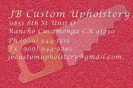 Jb Upholstery Jb Custom Upholstery