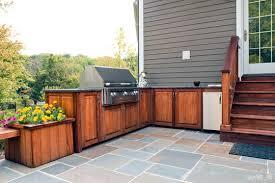 Outside Kitchen Cabinets Outdoor Bbq Kitchen Cabinets Nice Regarding Kitchen Home Design
