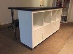 ikea hack kitchen island condo island expedit bookcase ikea hack and countertop
