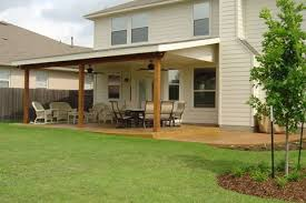 Attached Patio Cover Designs Covered Patios Attached To House Outdoor Goods