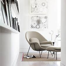 knoll saarinen original womb chair with cushions material life co uk