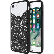 lace accessories kate spade new york lace cage for iphone 8 7 6s 6 verizon