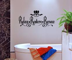 vinyl wall stickers for the bathroom color the walls of your house