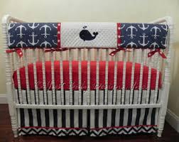 nautical crib bedding custom crib bedding baby bedding crib