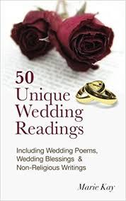 wedding blessings 50 unique wedding readings including wedding poems wedding