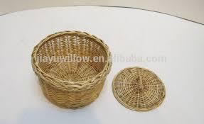 corbeille mariage en osier fruits panier avec support en acier cadeau de