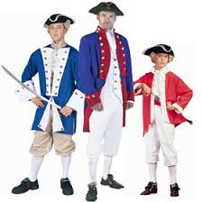 Colonial Halloween Costume Revolutionary War Soldier Costumes Colonial Costumes