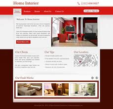 home interior website special discount offer on website template psd to create website