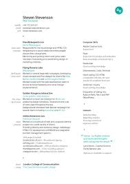 The Best Looking Resume by Best Looking Resume Best Looking Resume Template Template Free