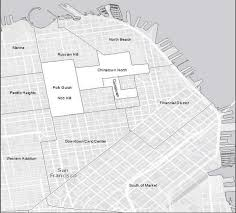 San Francisco Chinatown Map by Uc Berkeley Case Studies Urban Displacement Project