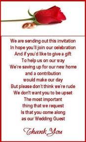 Wedding Gift Money Poem 50 X Mini Polite Wedding Money For Gift Poem Card For