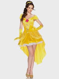 Halloween Costume Belle Disney Princess Dresses Adults Naf Dresses