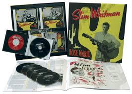 slim whitman box set i u0027m a lonely wanderer 6 cd bear family