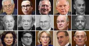 George Bush Cabinet Trump Has Fewest Cabinet Secretaries Confirmed Since 1789