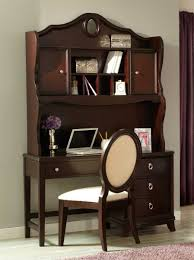 Cherry Desk With Hutch Homelegance Lund Writing Desk Hutch Rich Cherry 2002 14