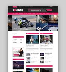 Best Designed Blog Best Wordpress Magazine Themes For Blog And News Websites