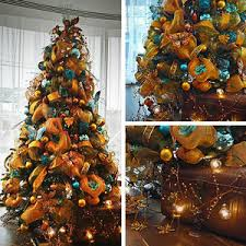 Large Commercial Christmas Decorations Uk by Bronze U0026 Teal Christmas Tree For Hire Book Commercial Christmas