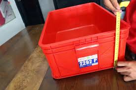 Jual Keranjang Container Plastik Bekas keranjang kontainer plastik polos tipe 2292 p rajaraksupermarket